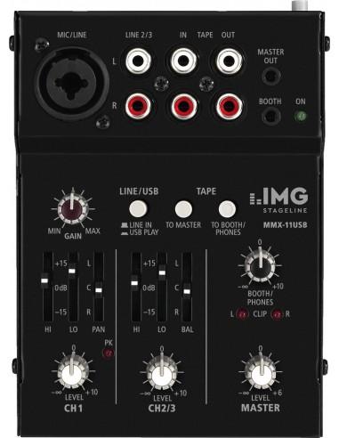 Garso pultas IMG Stageline MMX-11USB