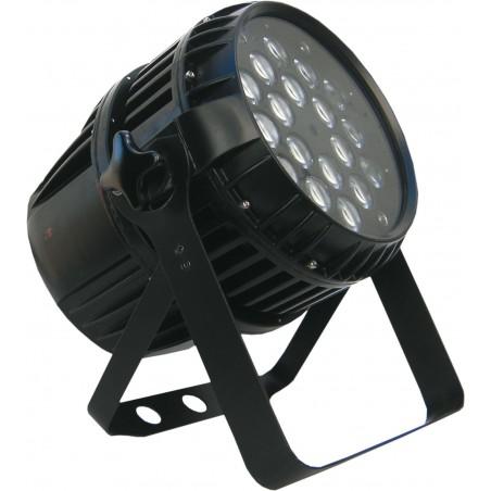 Prožektorius LED PAR 64 18x12W RGBW 4in1 ZOOM IP65