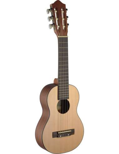 Ukulele-size classical guitar with...