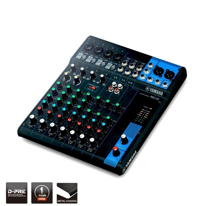 Analog mixing desk Yamaha MG10