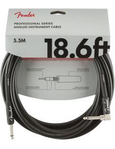 Instrumentinis kabelis Fender Pro 18.6' ANGL BLK