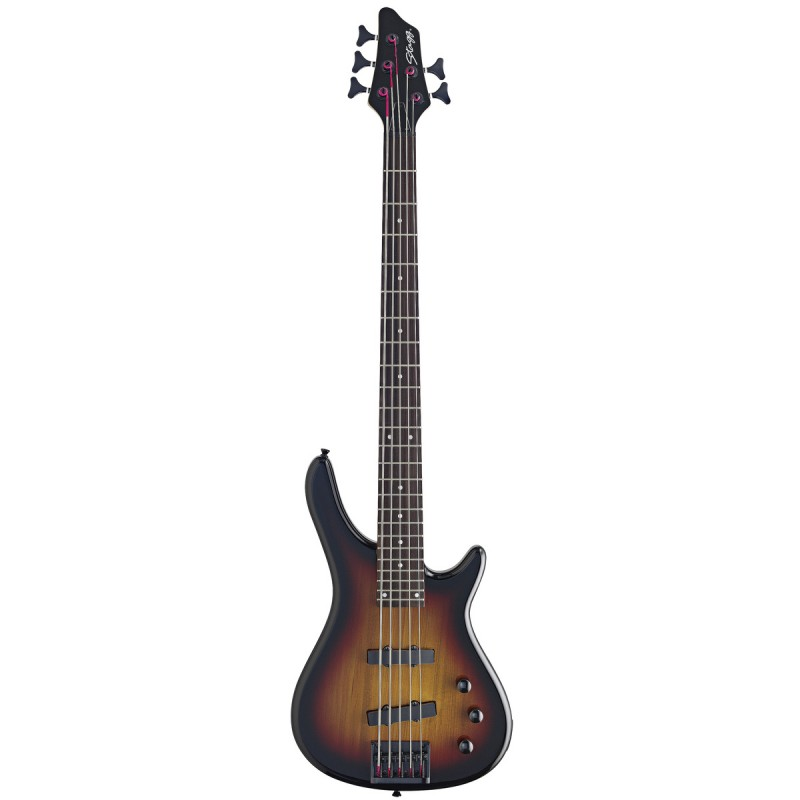 Penkiastygė bos. gitara Stagg BC300/5-SB