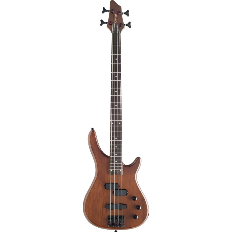 """""""Fusion"""" electric Bass guitar Stagg BC300-WS"""