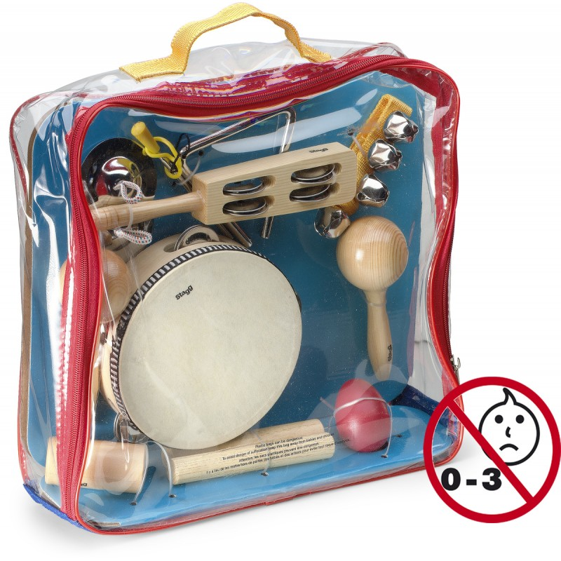 Percussions set for children Stagg CPK-01