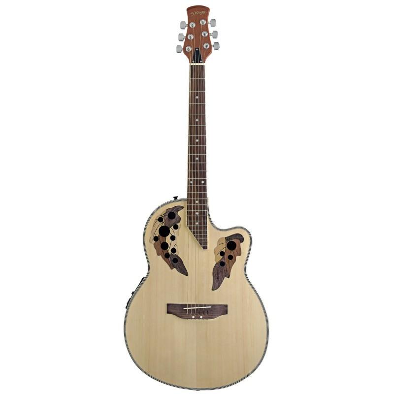 El. ak. gitara Stagg A2006-N