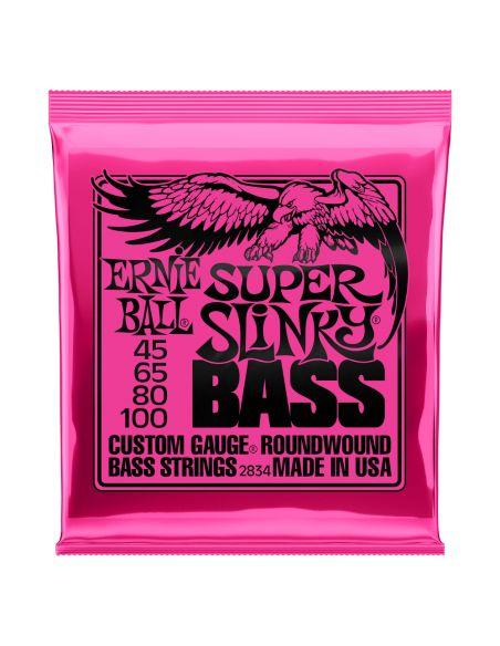 Stygos bosinei gitarai Ernie Ball 2834 40 - 100 (Slinky Nickel Wound)