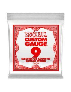 Styga el/ak gitarai Ernie Ball 1009 0.09