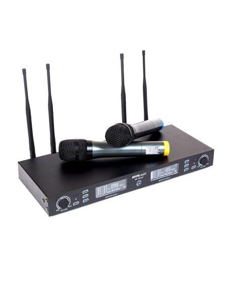 2 bevielių mikrofonų komplektas Master Audio BE5035H