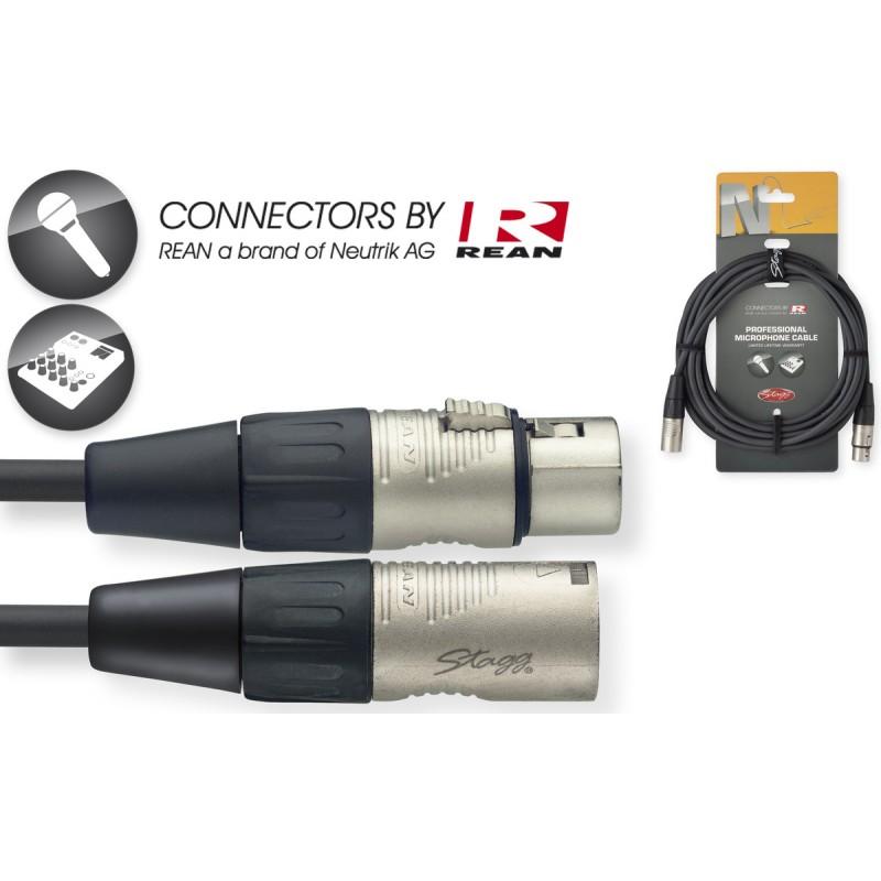 Audio kabelis Stagg NMC6R, 6m