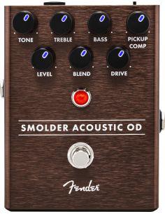 Gitaros efektas - pedalas Fender SMOLDER ACOUSTIC OVERDRIVE