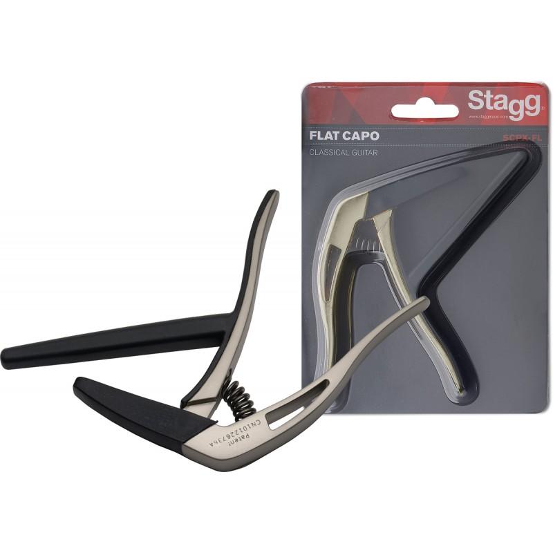 Capo for classical guitar Stagg SCPX-FL BG