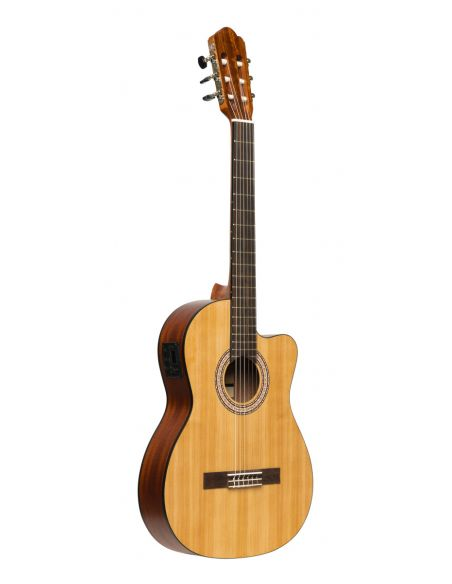 Elektro-akustinė klasikinė gitara Stagg SCL70 TCE-NAT