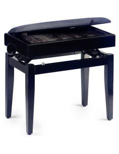 Pianino kėdutė Stagg PB55 BKM VBK (su stalčiumi)