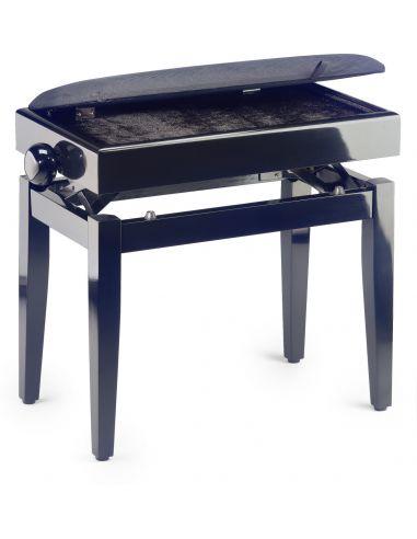 Pianino kėdutė Stagg PB55 BKP VBK (su stalčiumi)