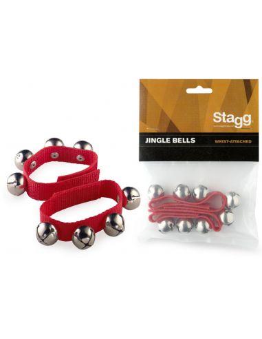 Stagg Barškučiai - apyrankės (maži, raudoni)