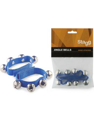 Stagg Barškučiai - apyrankės (maži, mėlyni)