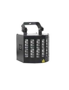 Šviesos efektas Flash LED Derby su lazeriu
