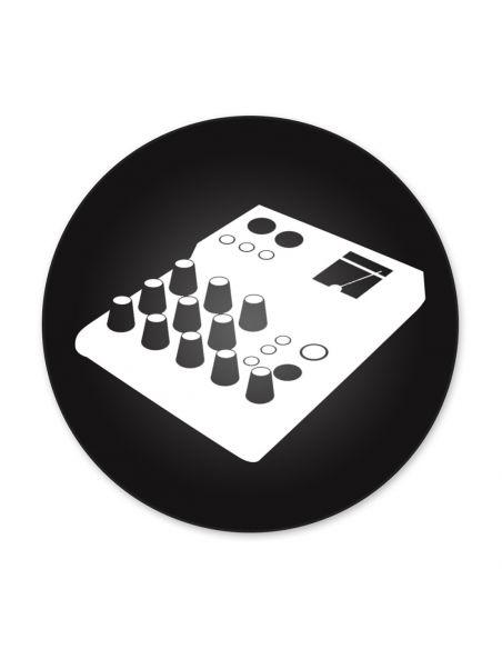 Kabelis 2x JACK/m - Jack stereo 1m