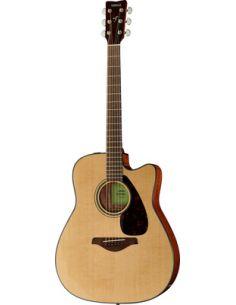 Elektro-akustinė gitara Yamaha FGX800C NT