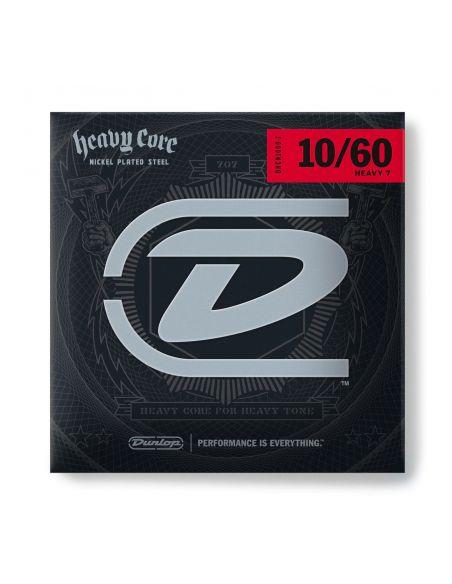 Stygos el. gitarai Dunlop Heavy Core® 10-60 (7 stygos)