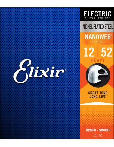 Stygos el. gitarai Elixir 12152 Nanoweb 12-52