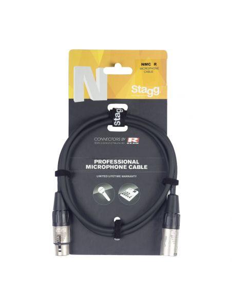 Audio kabelis Stagg NMC3R, 3m