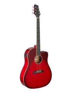 Elektro-akustinė gitara Stagg SA35 DSCE-TR