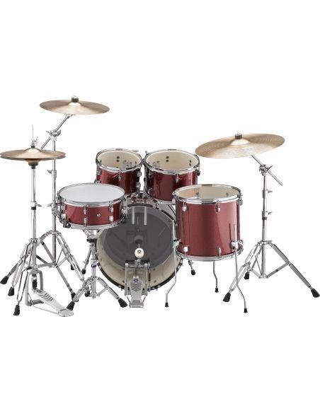 Akustiniai būgnai Yamaha RDP0F5 + lėkštės