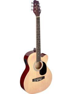 Elektro-akustinė gitara Stagg SA20ACE NAT