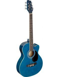 Elektro-akustinė gitara Stagg SA20ACE BLUE
