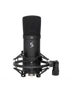 Studijinis mikrofonas Stagg SUM45 su stovu ir laikikliu