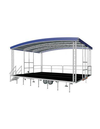 Mobili scena - priekaba Lumex Arcum 10x6 m