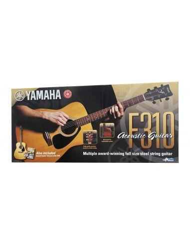 Akustinės gitaros komplektas Yamaha F310P