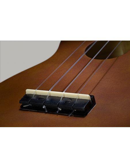 Soprano ukulėlė + dėklas Stagg US-NAT