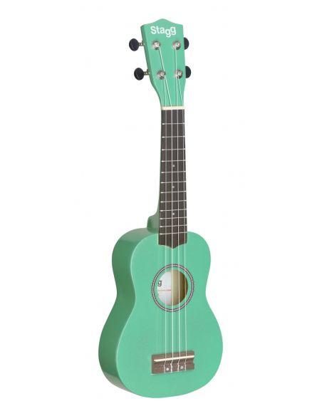 Soprano ukulele + bag Stagg US-GRASS