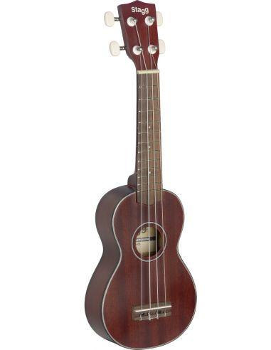 Soprano ukulele with gigbag Stagg US40-S