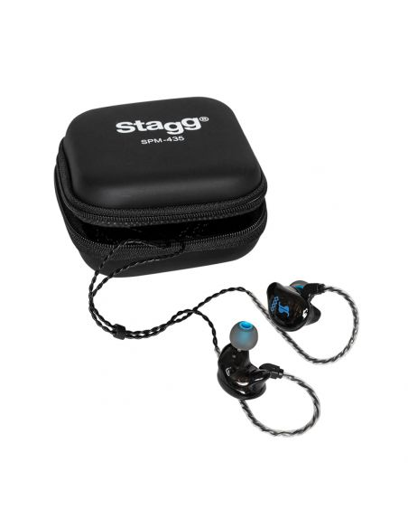 Ausinės in-ear Stagg SPM-435 BK (juodos)