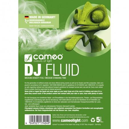 Dūmų skystis Cameo DJ CLFDJ5L