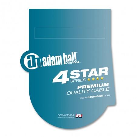 Kabelis REAN 1xJACK 3.5 stereo - 2xJACK 6.3 3m