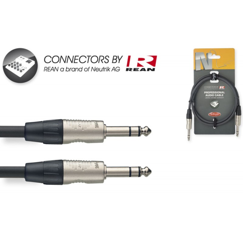 Audio cable Stagg NAC1PSR, 1m