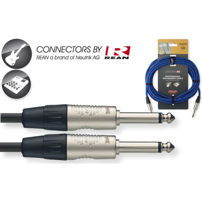 Audio cable Stagg NGC6VTR BL, 6m