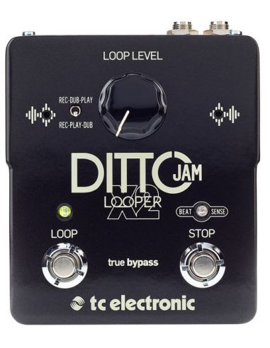 Gitarinis efektų pedalas - looper tc electronic Ditto Jam X2 Looper