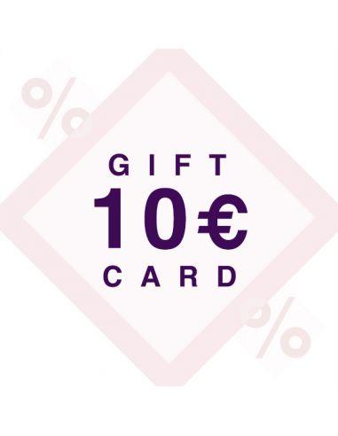 10€ dovanų kuponas