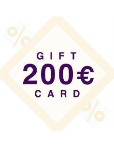 200€ dovanų kuponas