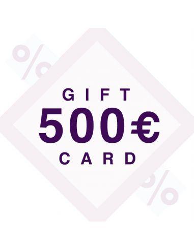500€ dovanų kuponas