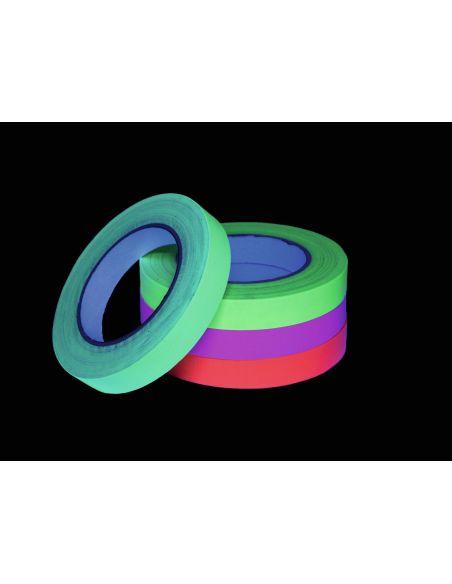Lipni juosta Gaffa Tape (neoninė, šviečia tamsoje)