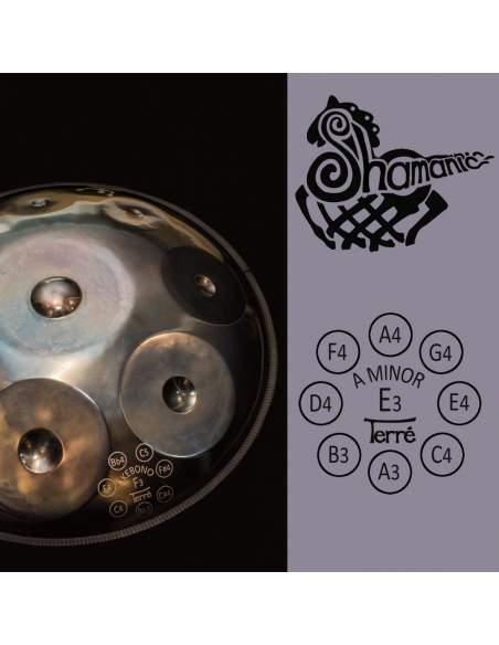 Toninis būgnas Shamanic A minor Terre