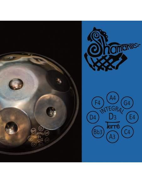 Toninis būgnas Shamanic D Integral Terre