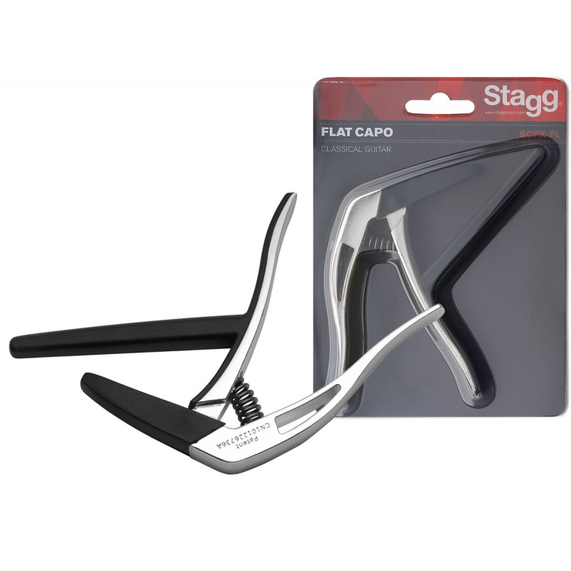 Capo for classical guitar Stagg SCPX-FL CR