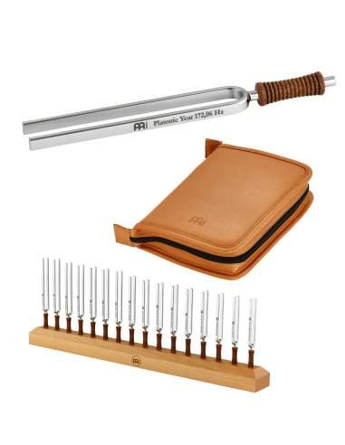 Tuning Forks Set 16 + Case